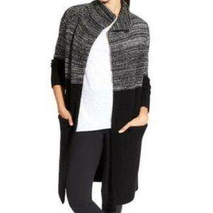 Athleta Duster Sweater Midnight Sun Sweater Coat S